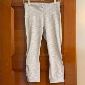 Lululemon Gray/White Crop Pants